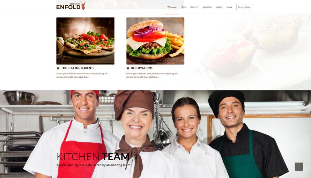 Esempio di sito - Esempio Home Page Struttura